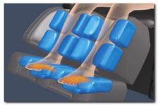 Воздушно-компрессионный массаж ног от колен до кончиков пальцев